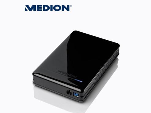 Medion P83773 (MD 90186) externe Festplatte (erhältlich bei Aldi Nord und Süd) ©Aldi Nord
