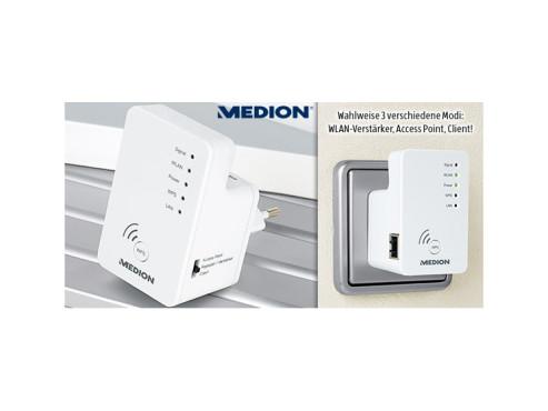 Medion P89137 Wireless-LAN-Verstärker (erhältlich bei Aldi Süd) ©Aldi Süd