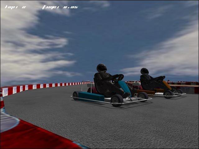 Screenshot 1 - KartingRace