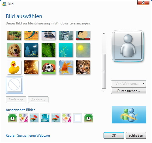 Screenshot 1 - Windows Live Messenger 2011