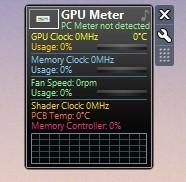 Screenshot 1 - GPU Meter