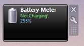 Screenshot 1 - Battery Meter