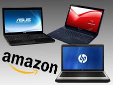 Notebook-Schnäppchen bei Amazon©Asus, HP, Packard Bell, Amazon