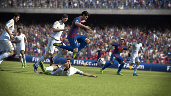 Sportspiel Fifa 13: Messi © Electronic Arts