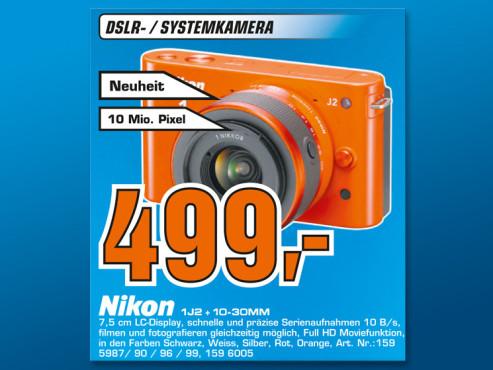 Nikon 1 J2 Kit 10-30 mm ©Saturn