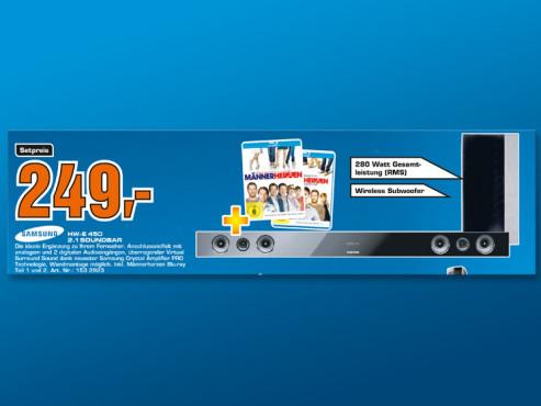 Samsung HW-E 450 2.1 Soundbar ©Saturn