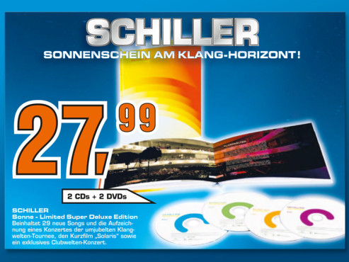 Schiller - Sonne (Limited Super Deluxe Edition) ©Saturn