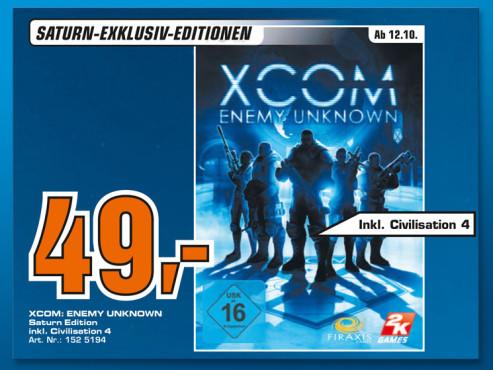 Xcom: Enemy Unknown ©Saturn