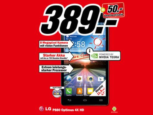 LG P880 Optimus 4X HD ©Media Markt