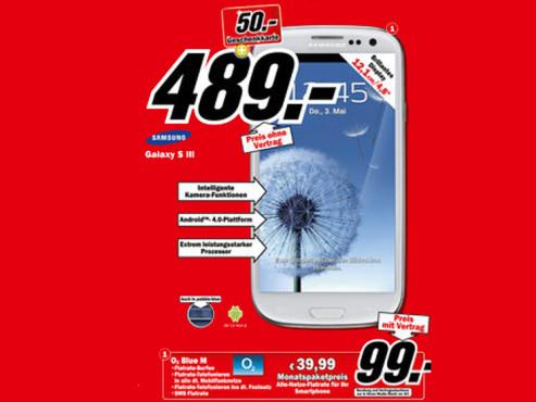 Media Markt ©Samsung Galaxy S3