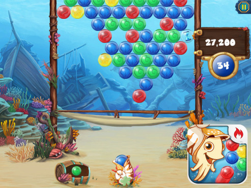 Bubble Speed – Puzzle Action Bubble Shooter ©GameDuell GmbH
