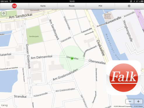 Falk Maps ©Mairdumont GmbH