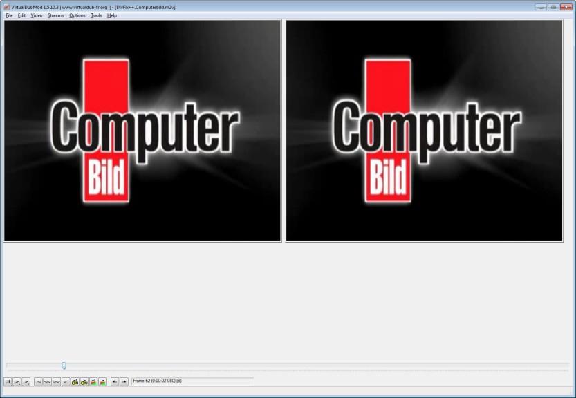 Screenshot 1 - VirtualDubMod