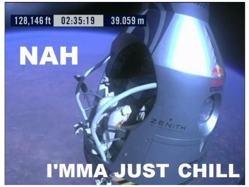 Red Bull Stratos Memes © http://knowyourmeme.com/photos/418356