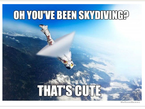 Red Bull Stratos Memes © http://knowyourmeme.com/photos/418407
