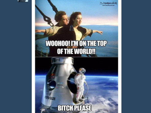 Red Bull Stratos Memes © http://www.tumblr.com/tagged/stratos?before=1350363207