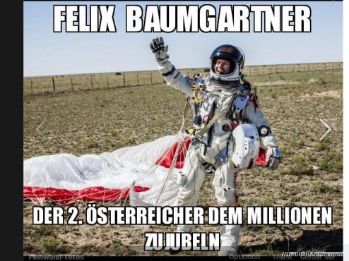 Red Bull Stratos Memes © WhatDoYouMeme.com