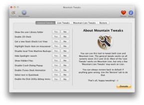Mountain Lion Tweaks (Mac)