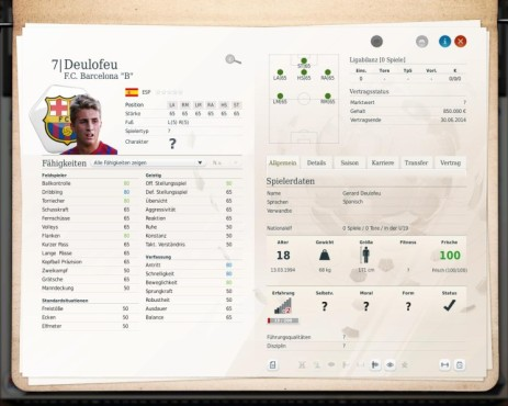 Simulation Fußball Manager 13: Gerard ©Electronic Arts