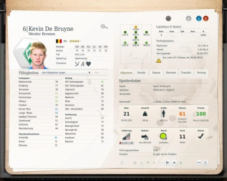 Simulation Fußball Manager 13: Kevin ©Electronic Arts