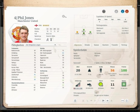 Simulation Fußball Manager 13: Phil ©Electronic Arts