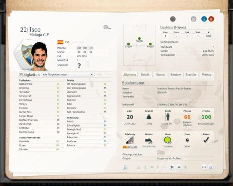 Simulation Fußball Manager 13: Roman ©Electronic Arts