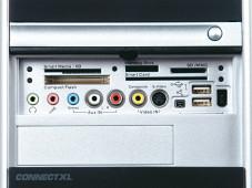 Nur mit vielen Anschlüssen lassen sich Tastaur, Maus und Monitor sowie Zusatzgeräte wie Digitalkamera, Camcorder, Lautsprecher oder Drucker anschließen.