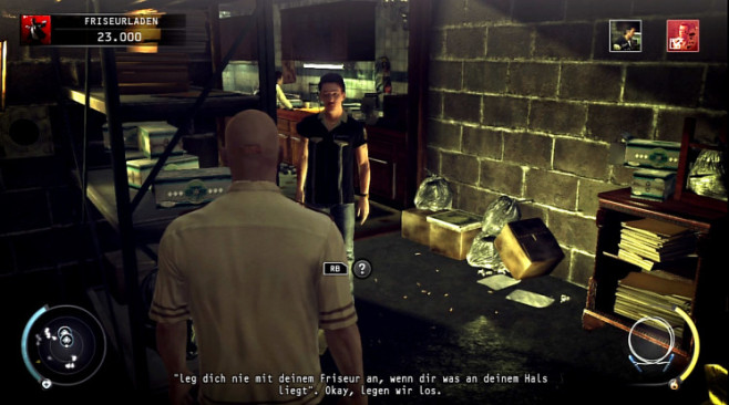 Actionspiel Hitman – Absolution: Lenny © IO Interactive