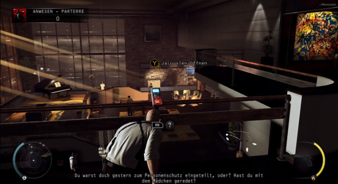 Actionspiel Hitman – Absolution: Jalousien © IO Interactive