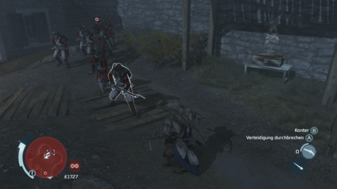 Actionspiel Assassin's Creed 3: Entkommen © Ubisoft