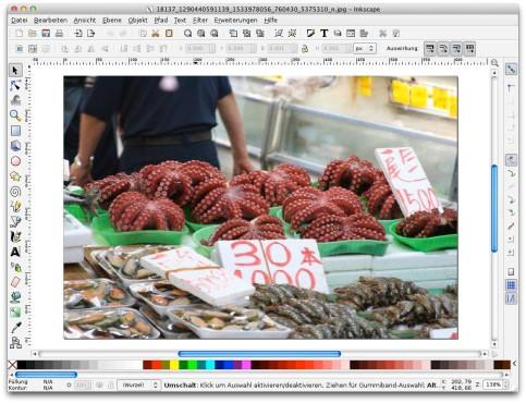Screenshot 1 - Inkscape (Mac)