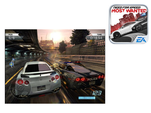 Need for Speed: Most Wanted © Electronic Arts Inc,