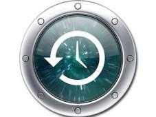 Symbol der OS-X-Funktion Time Machine©Apple