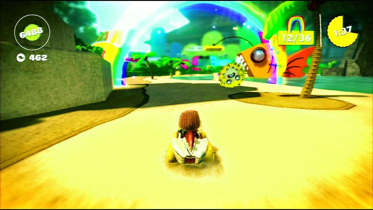 Little Big Planet Karting Test Für Ps3 Computer Bild Spiele