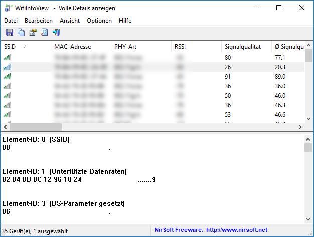 Screenshot 1 - WifiInfoView