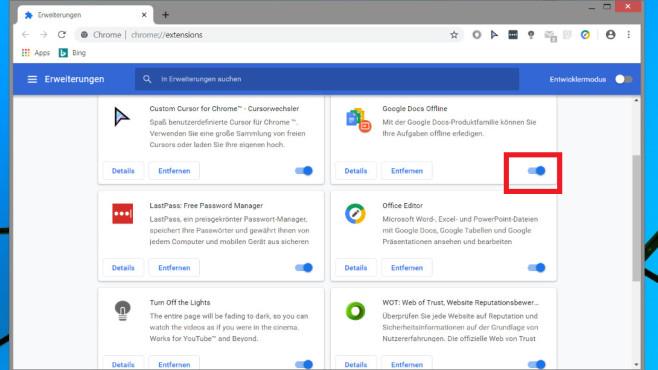 Screenshot Google Chrome ©COMPUTER BILD