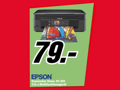 Epson Expression Home XP-305 ©Media Markt