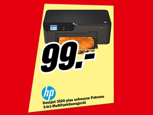 Hewlett-Packard HP Deskjet 3520 e-All-in-One ©Media Markt