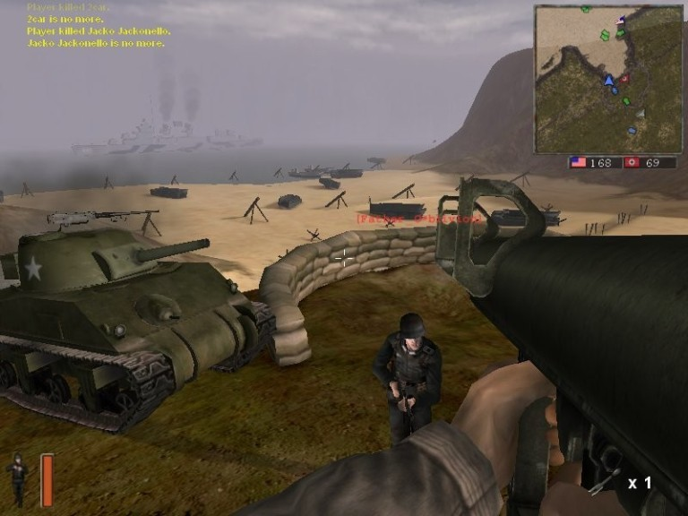 Screenshot 1 - Battlefield 1942