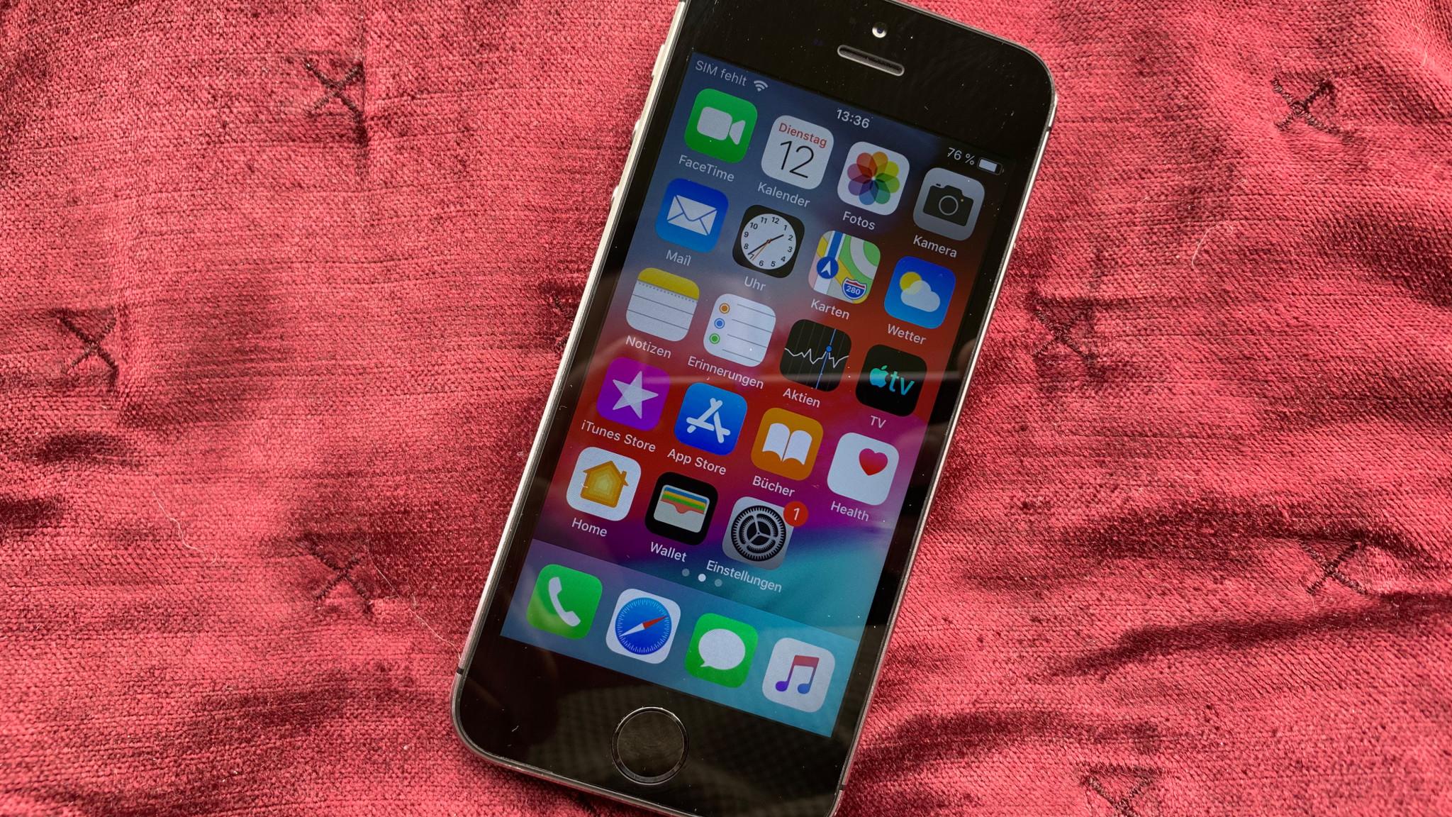 iPhone 5S©COMPUTER BILD
