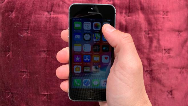 iPhone 5S: Bildschirm©COMPUTER BILD
