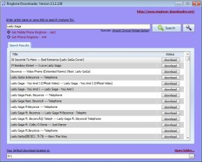 Ringtone Downloader