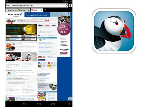 Puffin Browser ©Cloudmosa Inc