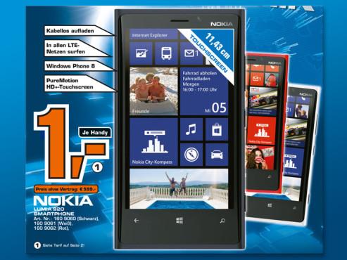 Nokia Lumia 920 Pureview ©Saturn