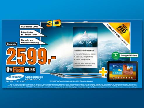 Samsung UE55ES8090 ©Saturn
