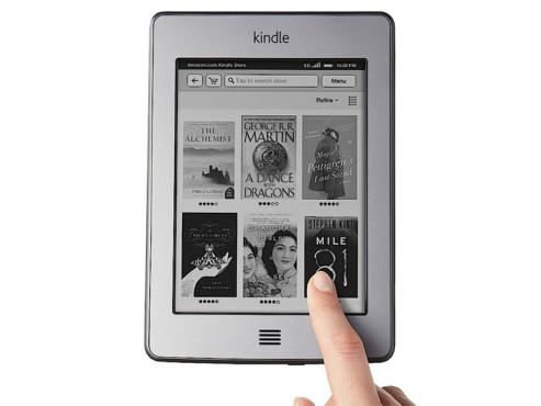 De Kindle Touch 3G von 2011. ©Amazon