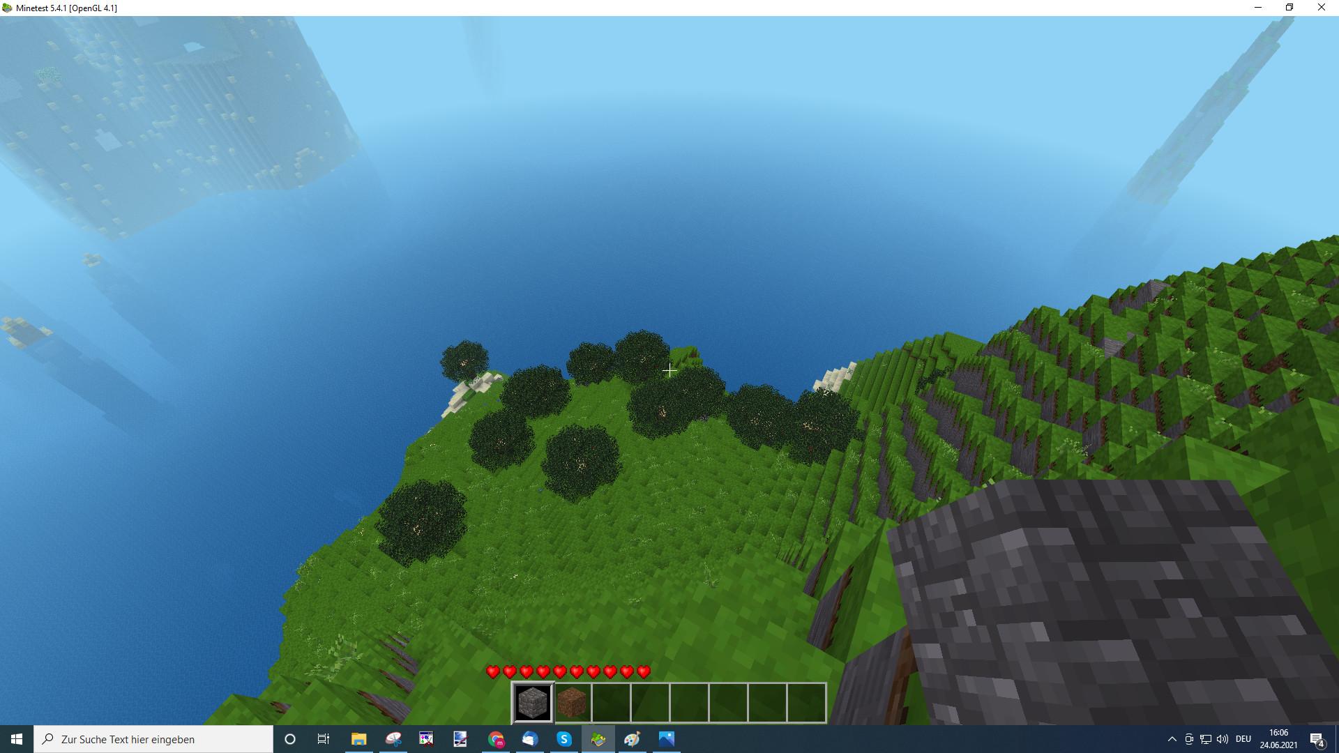 Screenshot 1 - Minetest