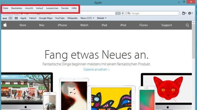 Browser-Verlauf löschen: Safari ©COMPUTER BILD