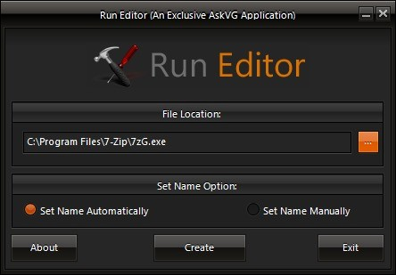 Screenshot 1 - Run Editor
