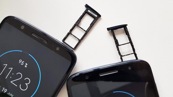 Motorola Moto G6 und Moto G6 Plus©COMPUTER BILD/Michael Huch
